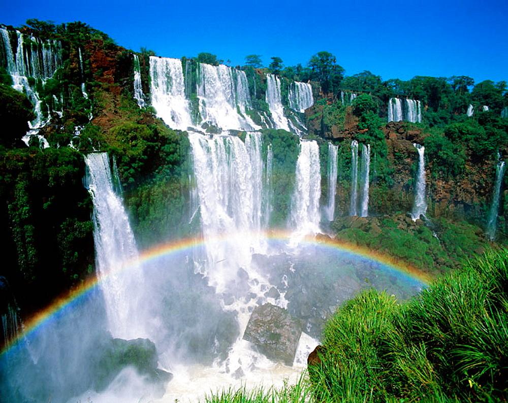 Iguazu falls, Iguazu National Park, Misiones, Argentina - 817-2882