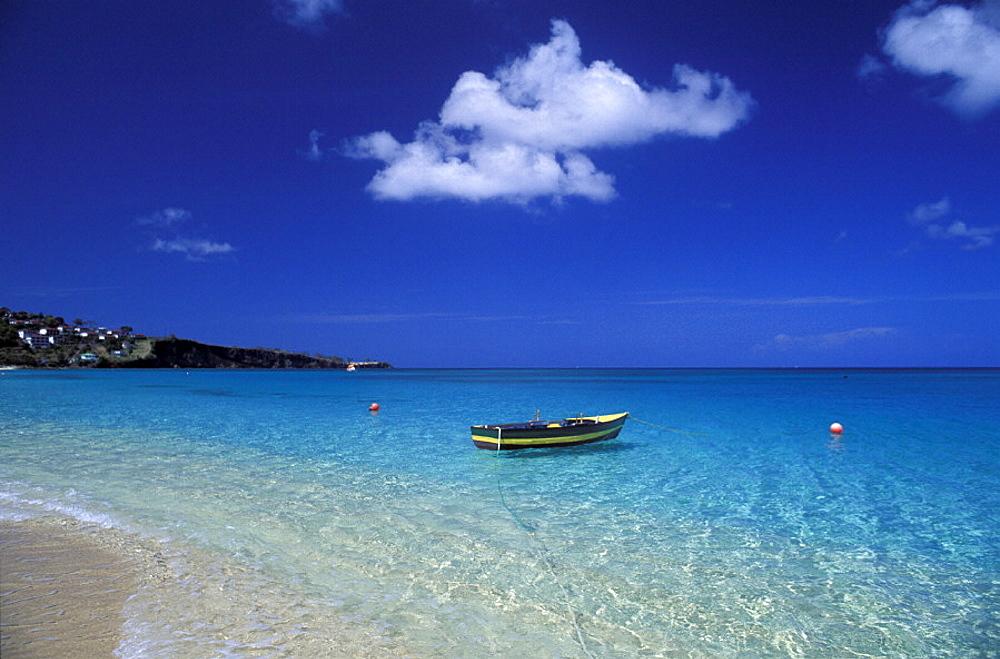 beach, Boat, coast, Grand Anse Beach, Grenada, scenery, landscape, sea, seashore, Caribbean. beach, Boat, coast, Grand Anse Beach, Grenada, scenery, landscape, sea, seashore, Caribbean