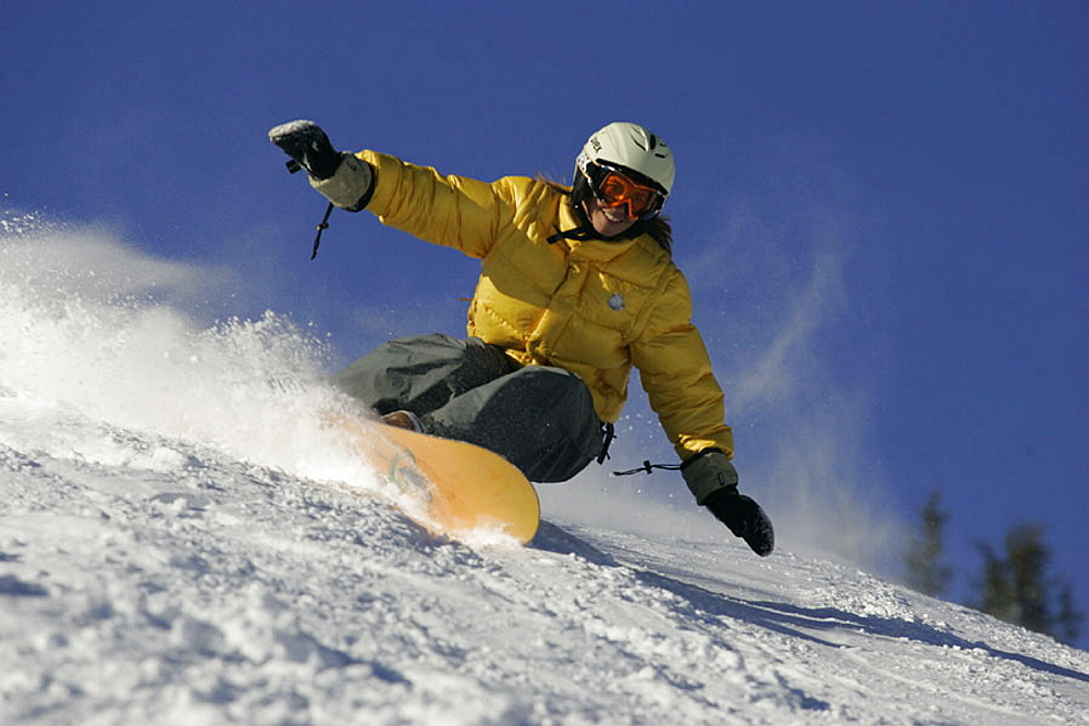 Snowboard, Snowboarding, woman, action, holidays, vacation, snow, winter sports, winter, sports, Alps, mountains, Aust. Snowboard, Snowboarding, woman, action, holidays, vacation, snow, winter sports, winter, sports, Alps, mountains, Aust