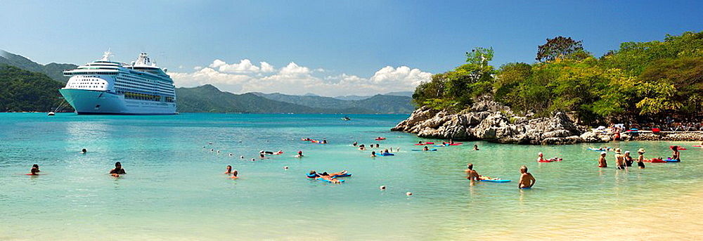 Haiti, Labadee, Voyager of the Seas, Royal Caribbean, Cruise Line, Caribbean, Panorama, Cruiser, Ship, Vacation, Trave. Haiti, Labadee, Voyager of the Seas, Royal Caribbean, Cruise Line, Caribbean, Panorama, Cruiser, Ship, Vacation, Trave