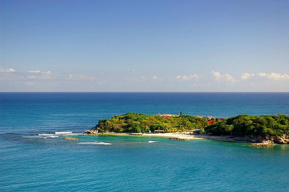 Haiti, Labadee, Caribbean, Beach, Sea, Ocean, Landscape. Haiti, Labadee, Caribbean, Beach, Sea, Ocean, Landscape