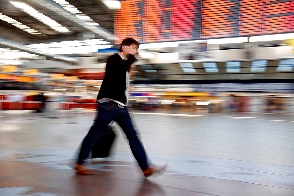 Airport, Baggage, Blurred, Cell phone, Cellular, Communication, Connection, Czech Republic, Departure, Europe, Fast, F. Airport, Baggage, Blurred, Cell phone, Cellular, Communication, Connection, Czech Republic, Departure, Europe, Fast, F