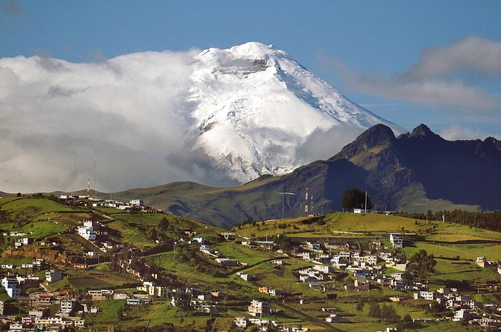 10856832, Ecuador, Quito city, Andes Mountains, ov. 10856832, Ecuador, Quito city, Andes Mountains, ov