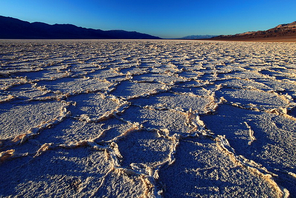 Badwater basin, Death Valley, National Park, Calif. Badwater basin, Death Valley, National Park, Calif