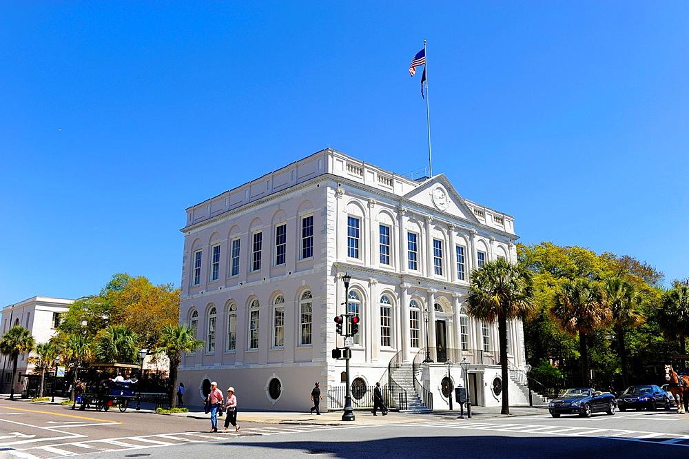 City Hall in historic downtown Charleston South Carolina SC built 1938