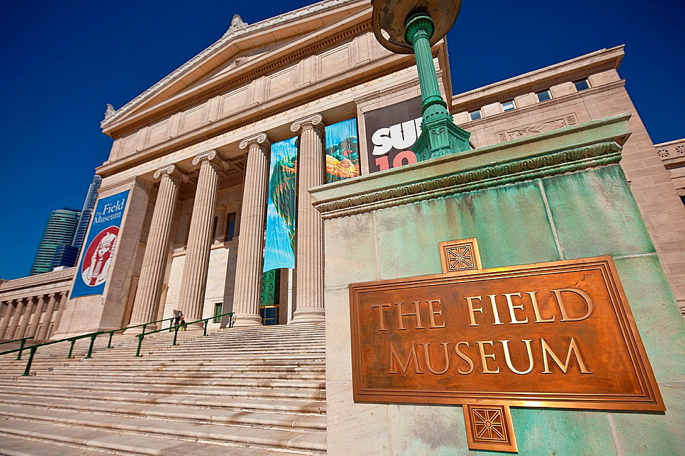 Field Museum of Natural History in Chicago, IL, USA