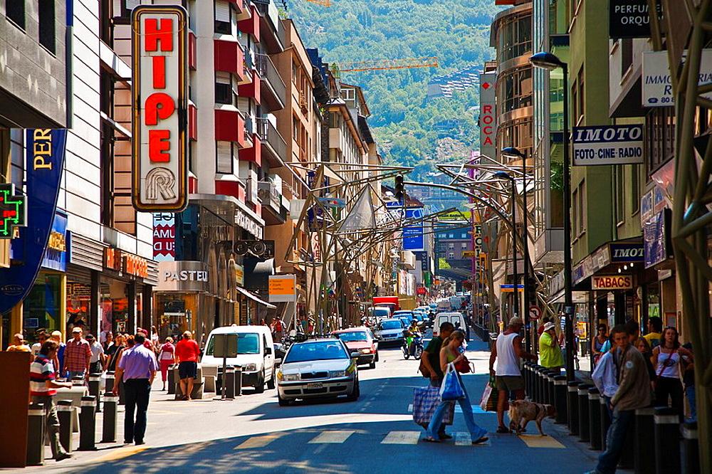 Meritxell Avenue Andorra la Vella ANDORRA.