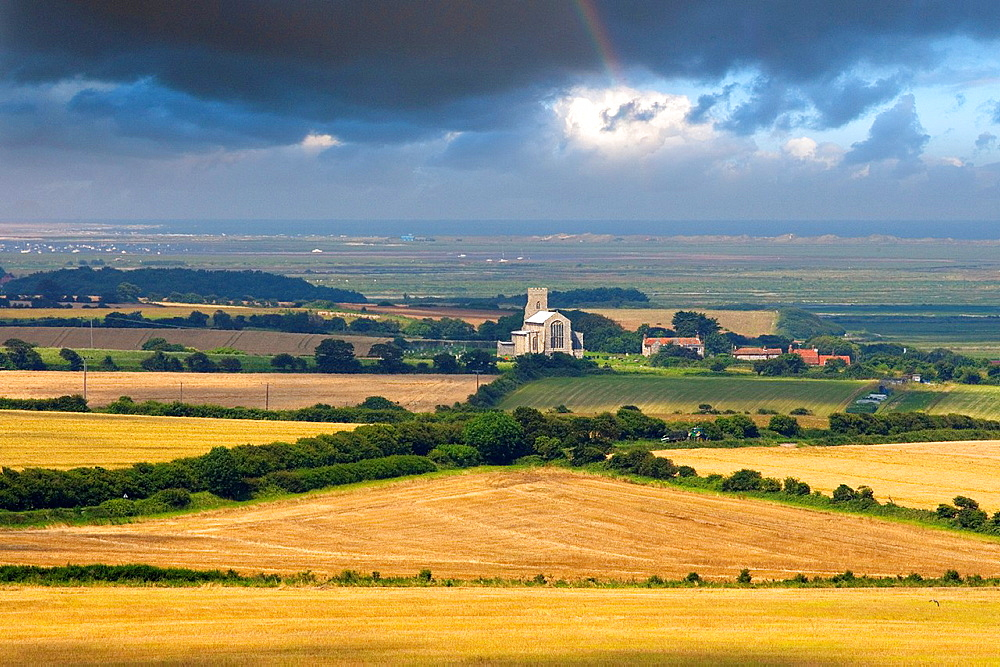 Salthouse Church and the North Norfolk Coast