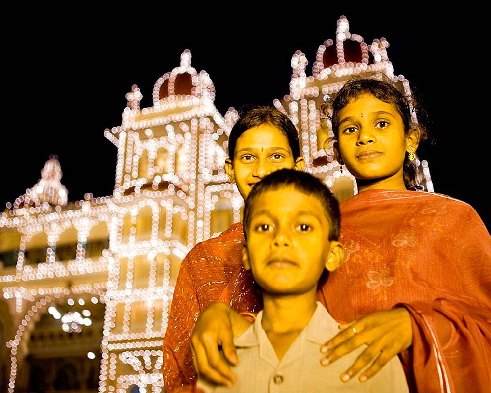Children, India