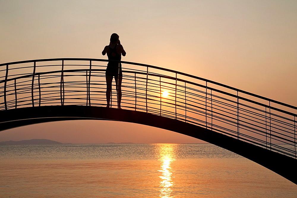Sunset, Milina, Southern Pilion peninsula, Greece