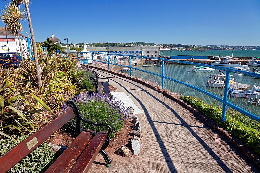 England Devon Paignton Harbour North Quay from Roundham Road