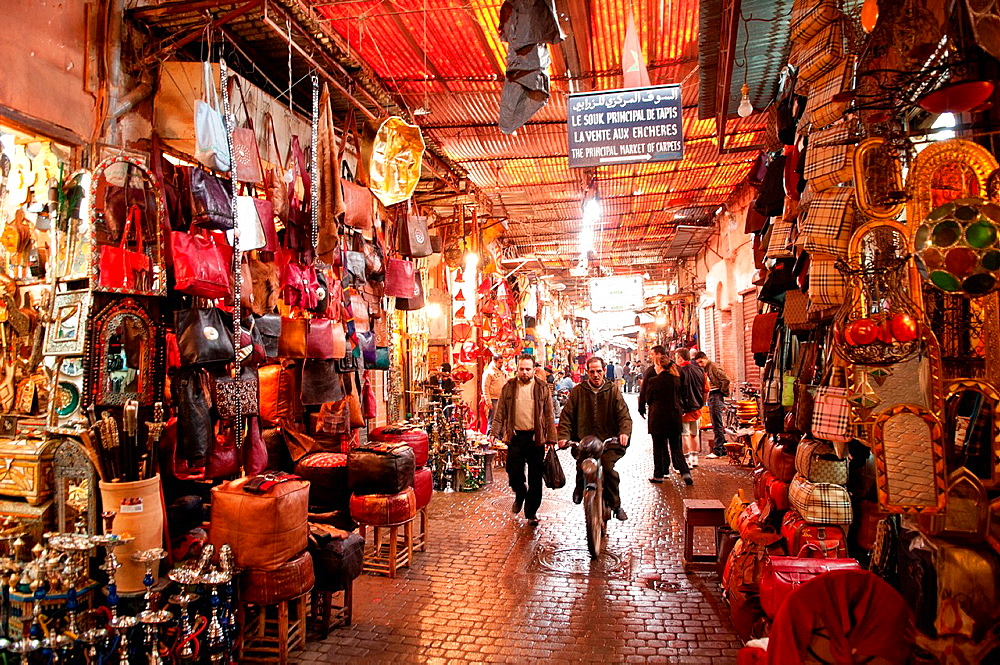 Inside the Souq, Marrakech, Morocco