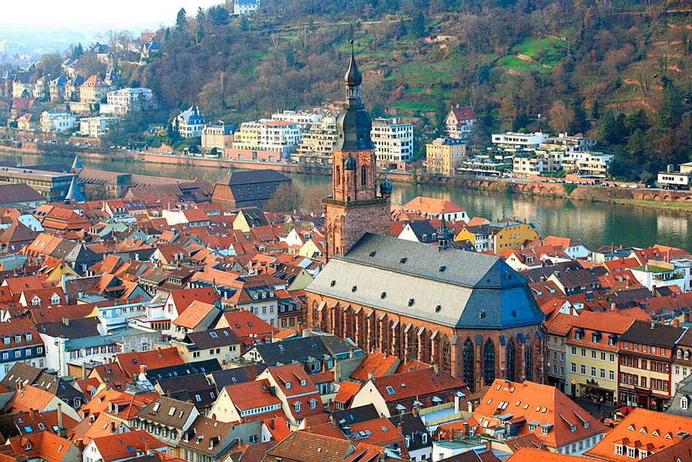Heiliggeistkirche (Church of the Holy Spirit), Heidelberg, Baden-Wurttemberg, Germany