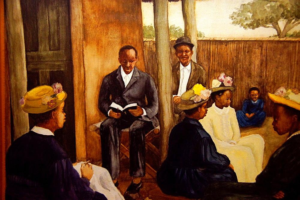 Sunday school, Gaborone National Museum, Botswana