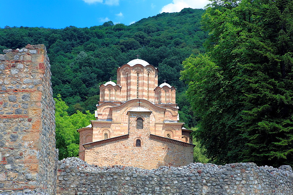 Ascension church of Ravanica Monastery 1375-1377, Pomoravlje district, Serbia