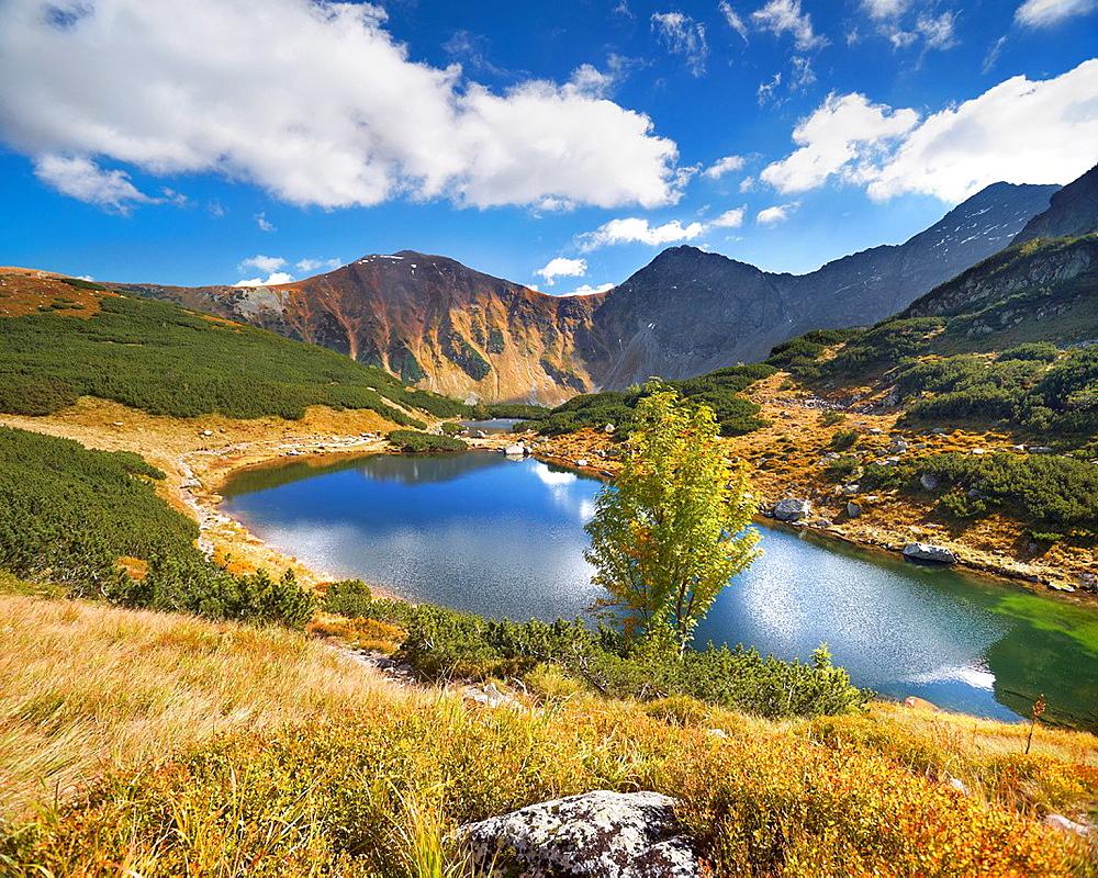 Rohacki Pond, Tatra National Park, Slovakia, Europe