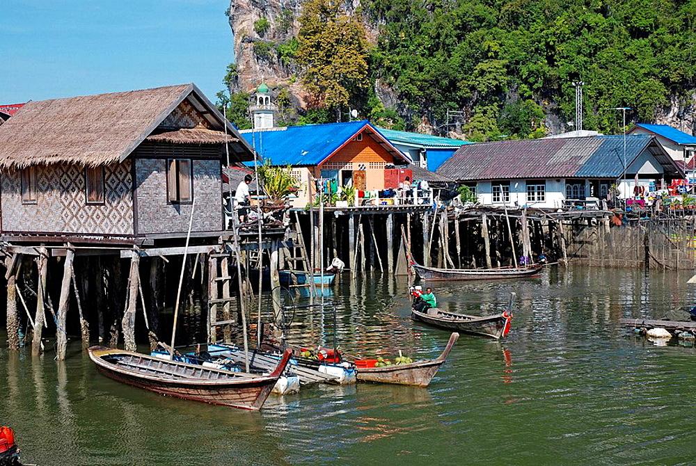 Ko Panyi, Muslim fishing village, Phang Nga, Thailand