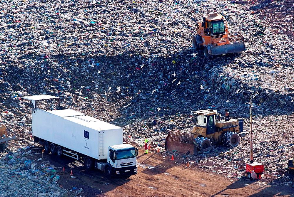 Almagro recycling plant, Ciudad Real, Castile-La Mancha, Spain