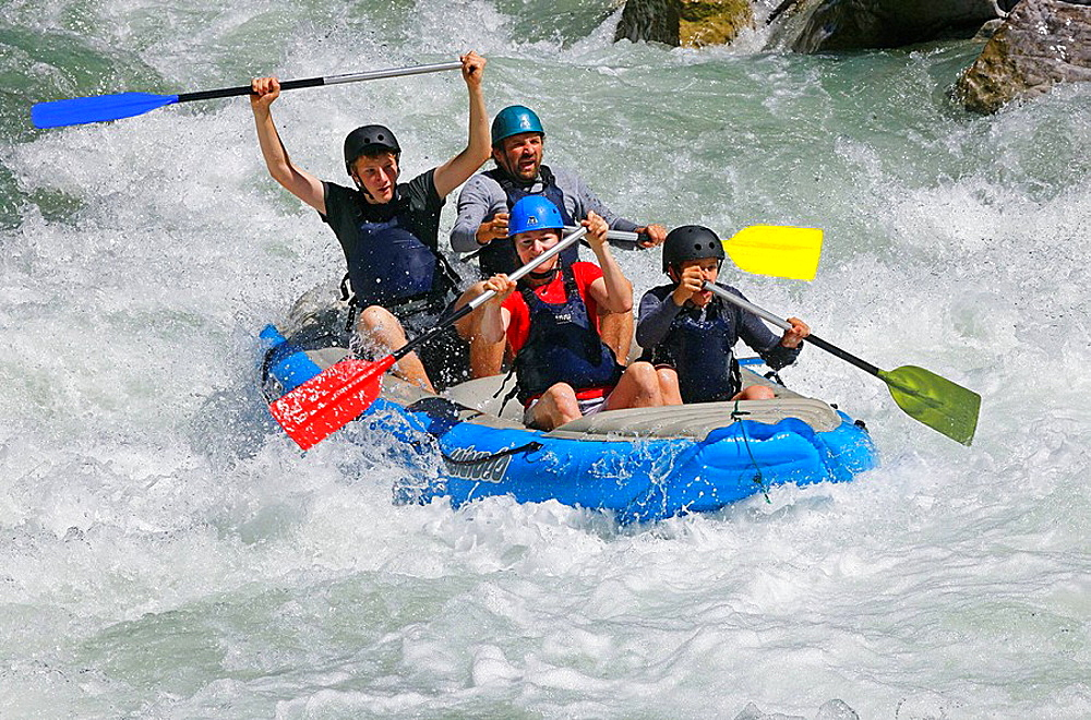 River Rafting on the Salzach River in Austria
