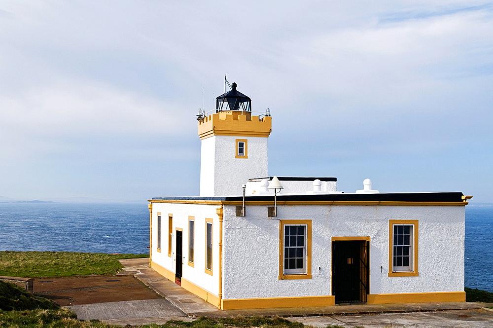 Lighthouse at Duncansby Head, Caithness, Scotland