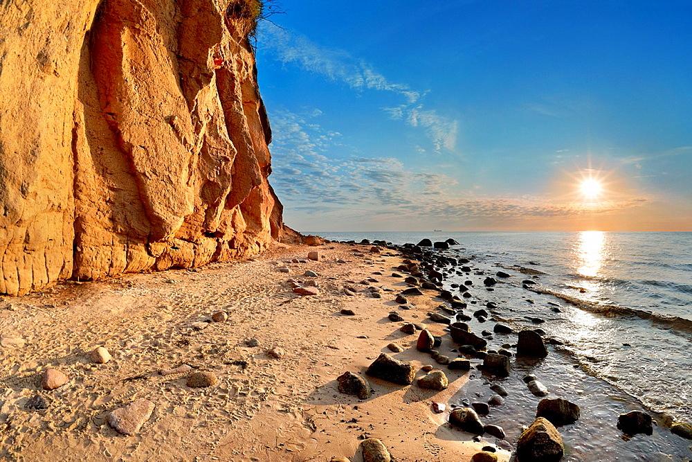 Sunrise at the Baltic Sea, Poland, Europe