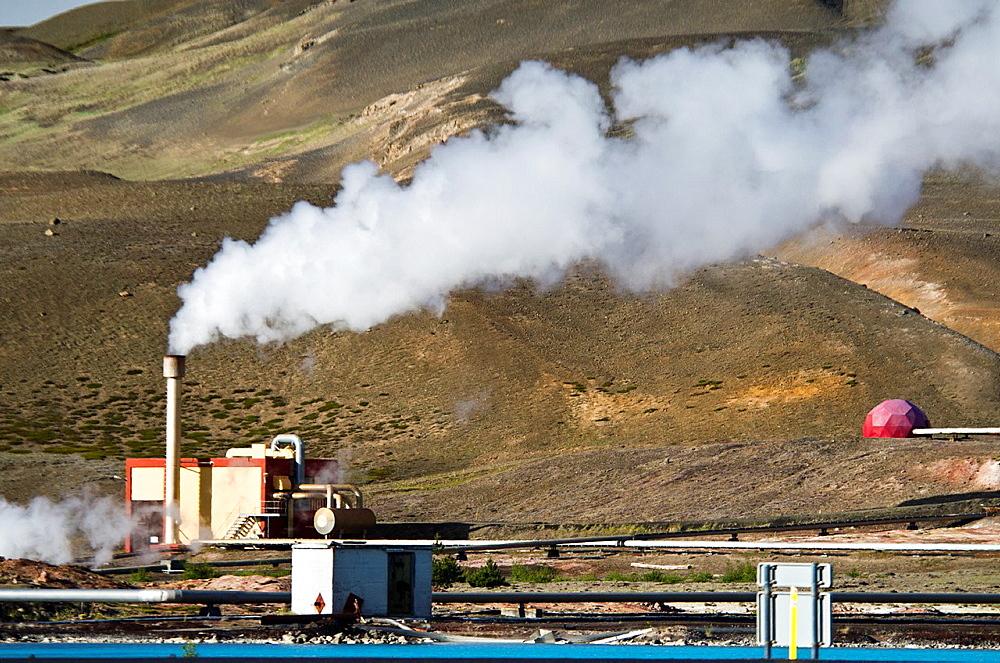 Krafla  Geothermal area  North east Iceland - 817-327817