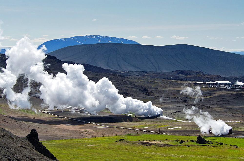 Krafla  Geothermal area  North east Iceland - 817-327819