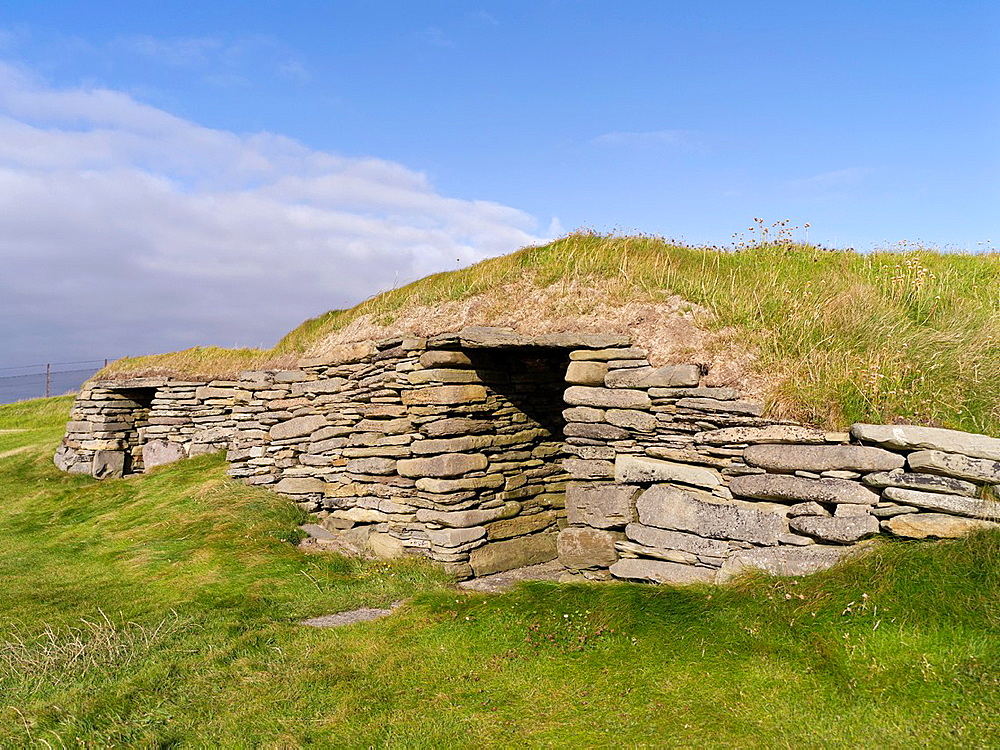 Knap of Howar PAPA WESTRAY ORKNEY Two Bronze age neolithic houses