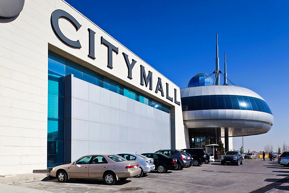 Jordan, Amman, City Mall Shopping center, exterior
