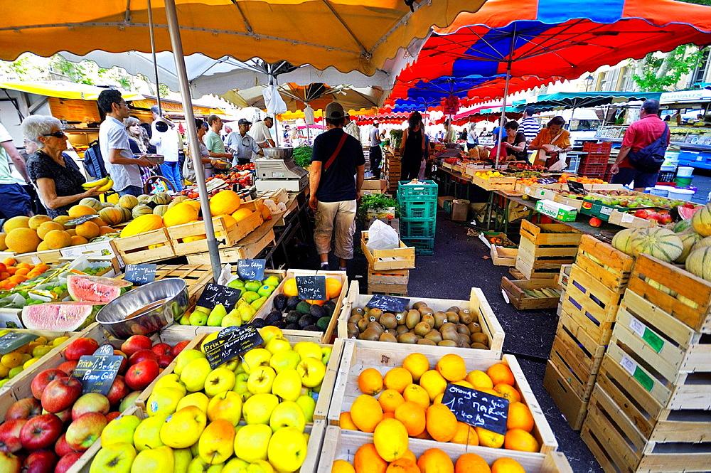 aix-en-provence, market