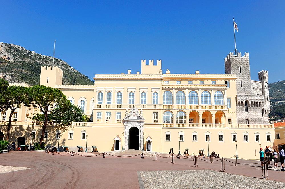 Palace Monte Carlo Grimaldi Monaco Principality French Riviera Mediterranean Cote d'Azur Alps