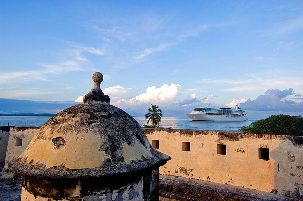 San Fernando de Bocachica Spanish fort-1753, Tierrabomba island, Cartagena de Indias, Bolivar Department,, Colombia, South America
