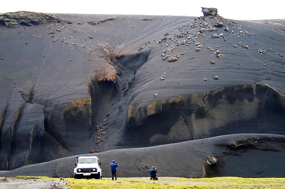 Landmannaaugar volcanic area South Iceland