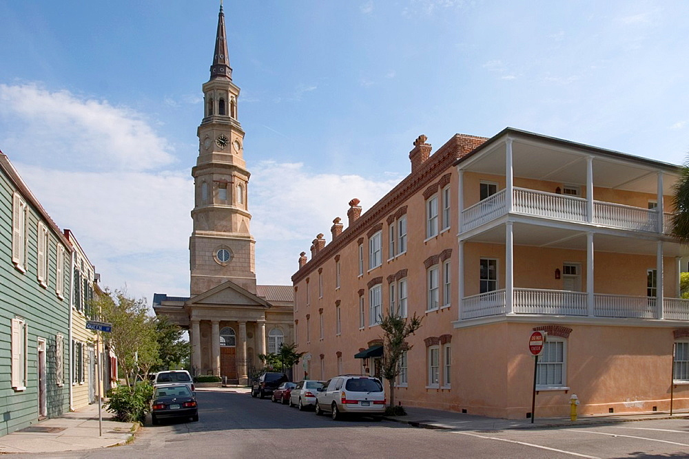 St Philip's Episcopal Church, 1835-1838, Church Street, Charleston, South Carolina