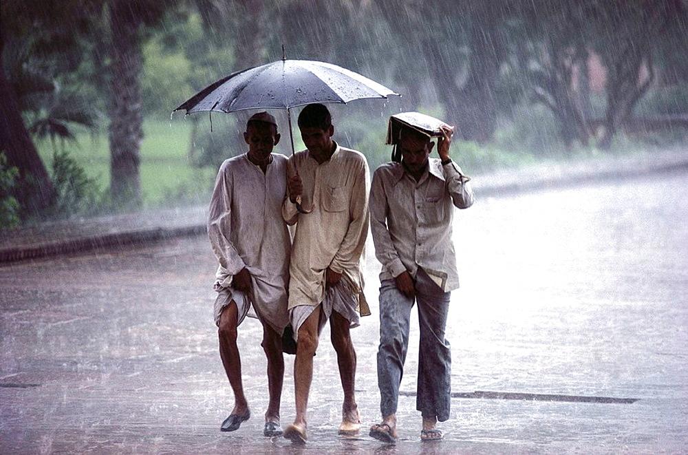 Monsoon, Agra, India
