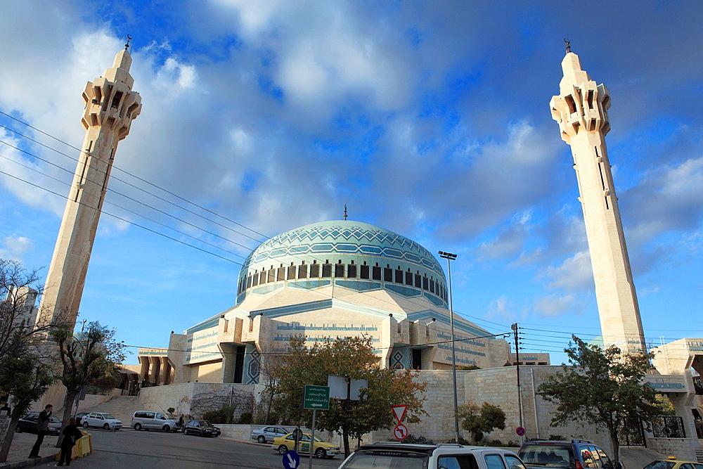 King Abdullah I mosque 1982-1989, Amman, Jordan