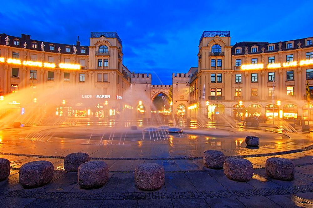 Karlsplatz, Munich, Bavaria, Germany, Europe