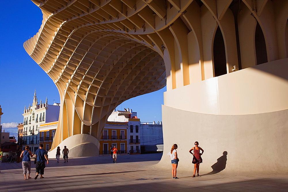 Metropol Parasol, in Plaza de la Encarnacion, Sevilla, Andalucia, Spain