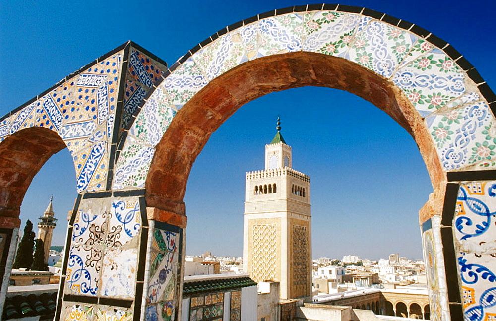 Zitouna, the Great Mosque, Tunis, Tunisia