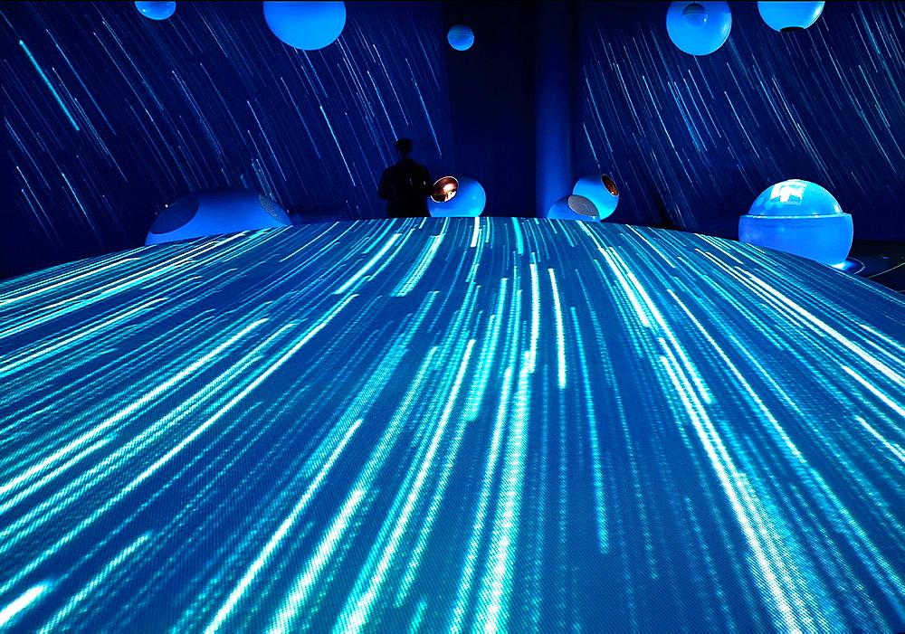 CERN, CERN, Universe of Particles exibition, Geneva, Galileo Galilei Square, Switzerland, Organisation Europeenne pour la Recherche Nucleaire, European Organization for Nuclear Research - 817-354765