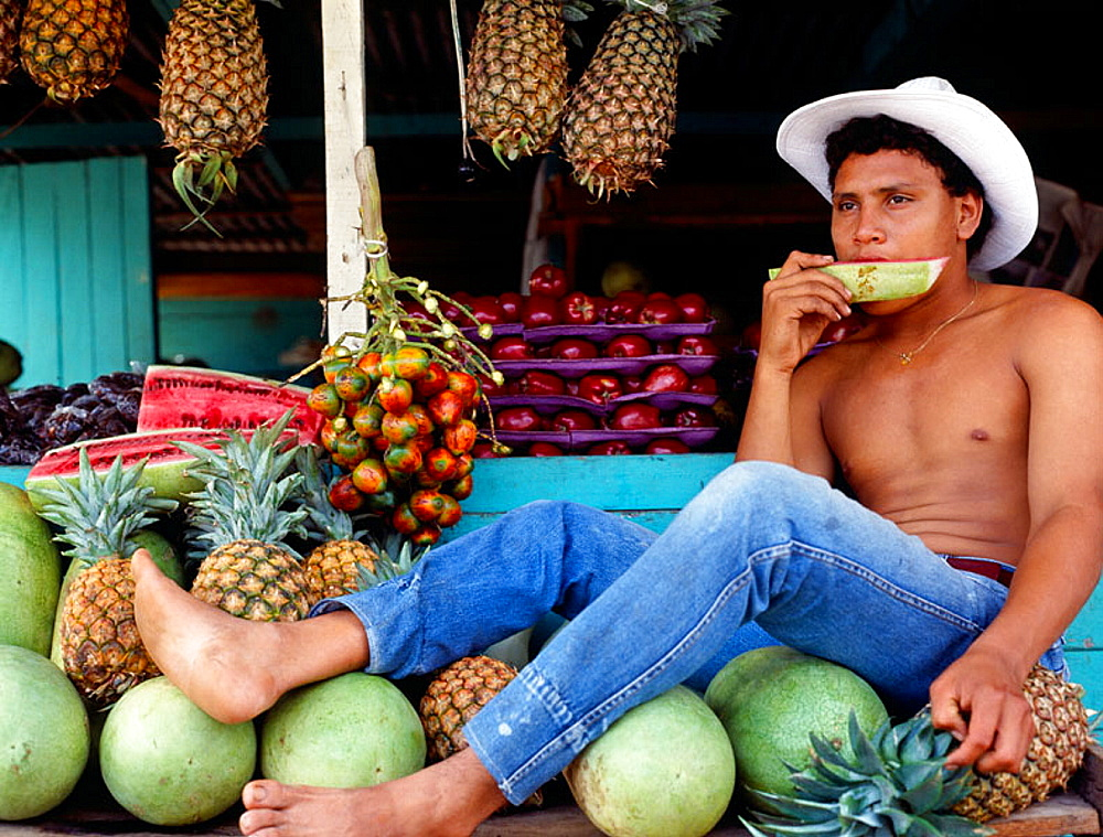 Fruit shop, Montezuma village, Nicoya Peninsula, Costa Rica