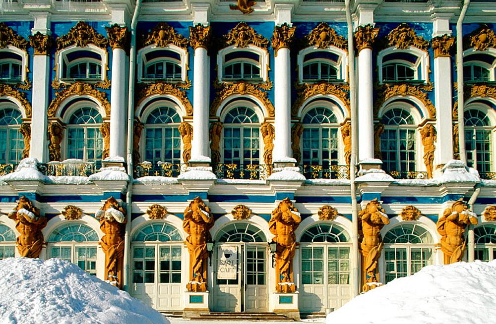 Catherine Palace, Pushkin, Near St, Petersburg, Russia