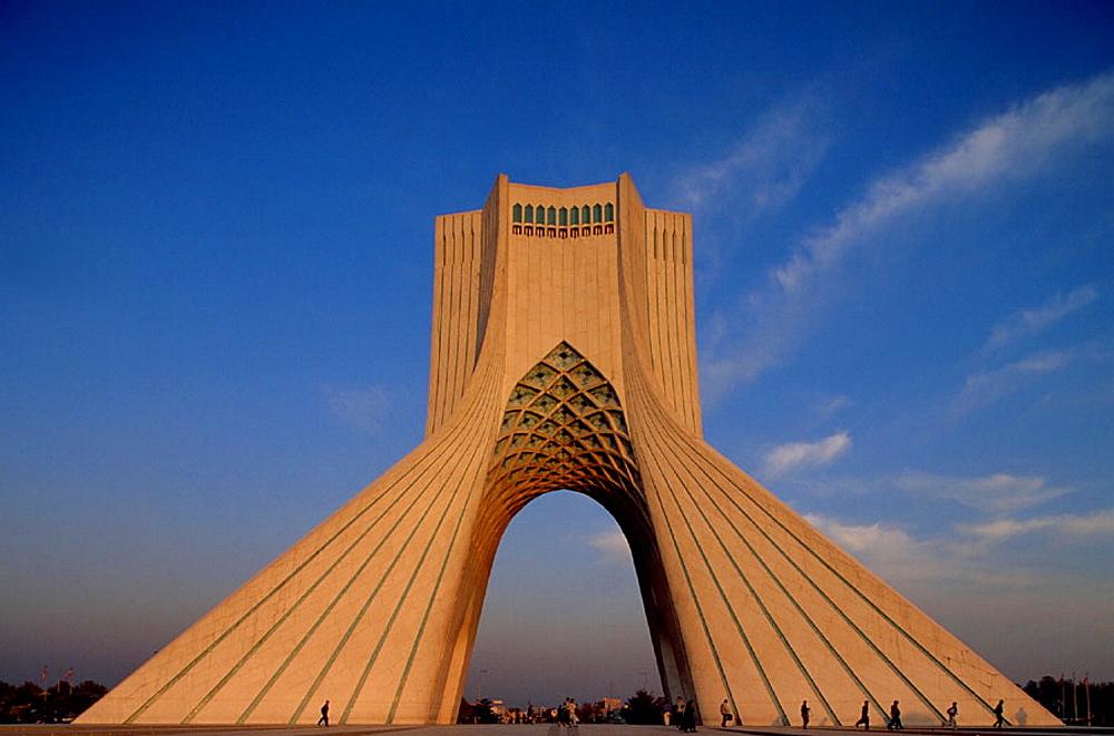 Azadi Tower (Shahyade), Teheran, Iran