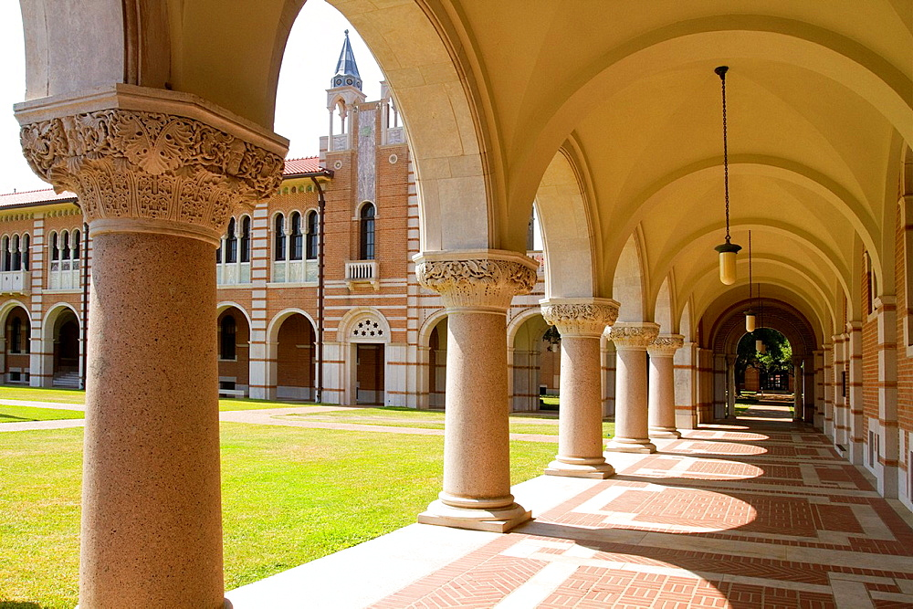 Rice University Loggia, Houston, Texas, USA - 817-358037