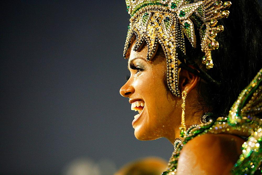 Carnival parade at the Sambodrome, Rio de Janeiro, Brazil - 817-358212