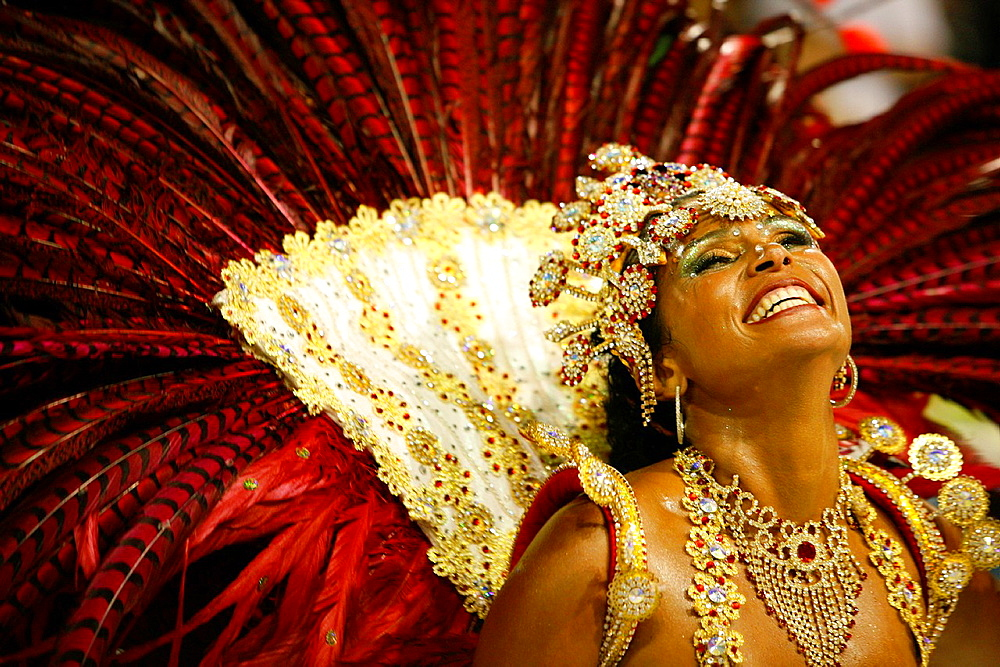 Carnival parade at the Sambodrome, Rio de Janeiro, Brazil - 817-358215