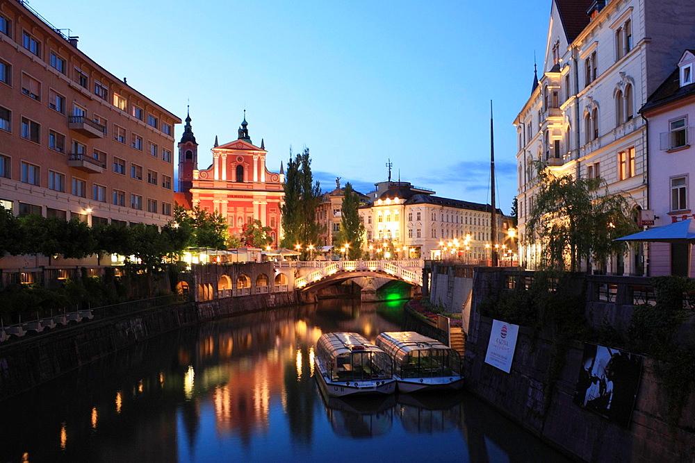 Ljubljana Evening, Slovenia