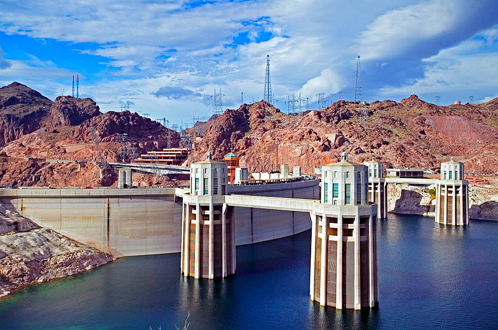 Hoover Dam and Lake Mead, Arizona and Nevada
