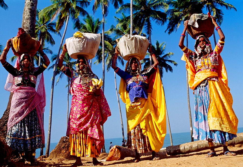 Anjuna Flea Market, North Goa, Goa, India
