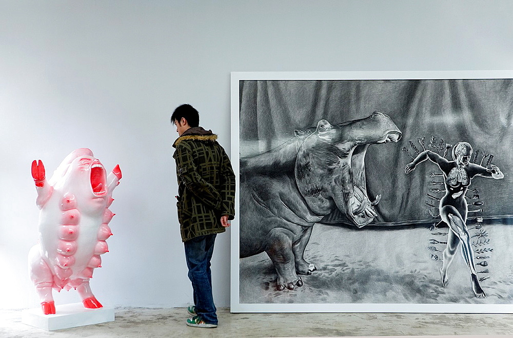 Mook gallery Nº4 Jiuxianqiao road, in Dashanzi 798 Art District, Beijing, China
